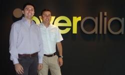 Guillermo Vilarroig, director de Overalia, y Roberto Croci, responsable comercial de Google Analytics Premium