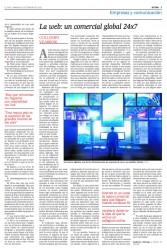 La web: un comercial global 24x7. Guillermo Vilarroig. El País
