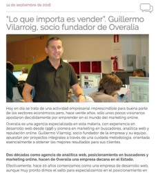 Entrevista a Guillermo Vilarroig en Up Euskadi