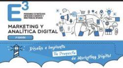 Curso sobre marketing y analítica digital en Cebek